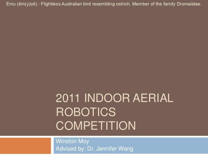 TCNJ Indoor Aerial Robotics Presentation