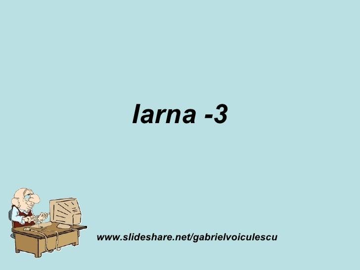 Iarna -3 www.slideshare.net/gabrielvoiculescu