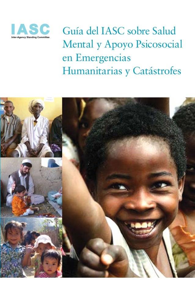 Guía del IASC sobre Salud                                                                                                 ...