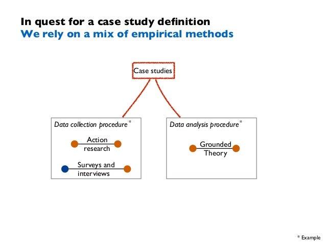 Case study procedure