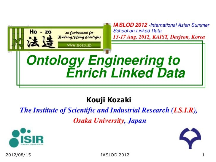 Ontology Engineering to Enrich Linked Data