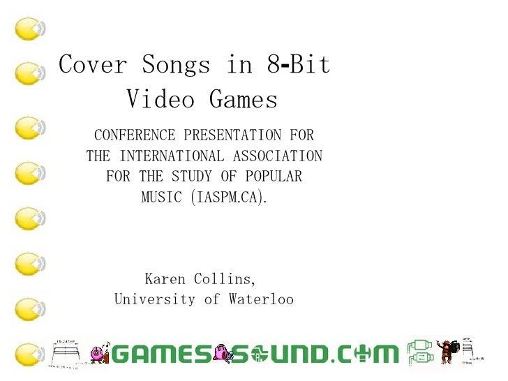 Cover Songs in 8-Bit Video Games