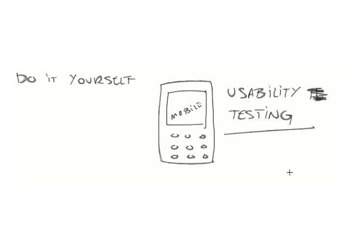 DIY mobile usability testing - IA Summit 2011