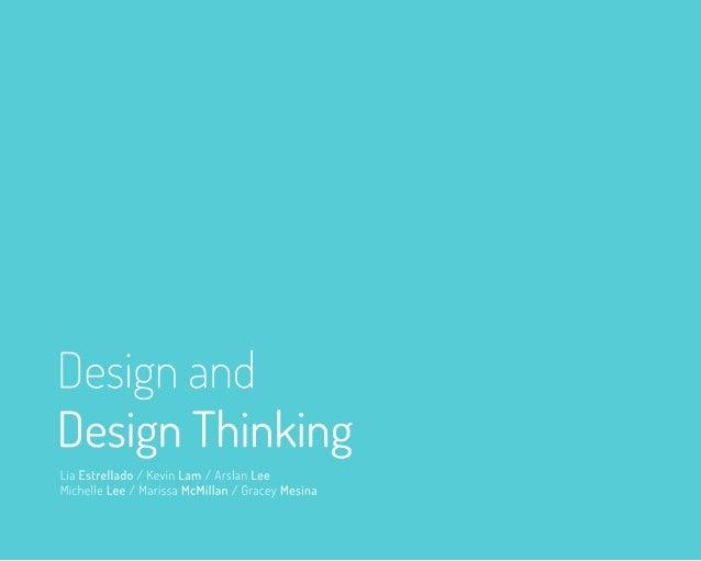Design + Design Thinking