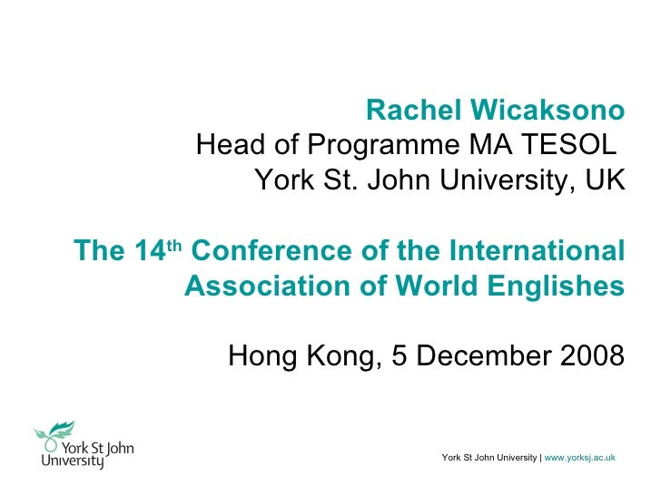 What is your problem with English?  Conversations (in and) about English as an international language at a UK university