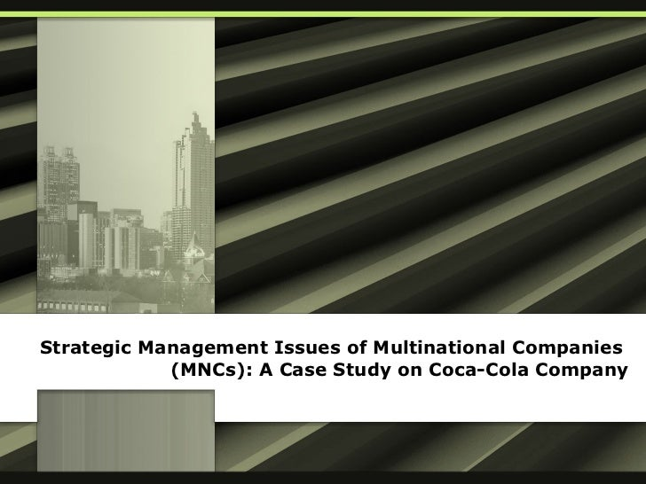 "coca cola case study strategic management The ansoff matrix management tool offers a solution to this question  for a full case study of a market  12 thoughts on "" coca-cola: ansoff matrix ."