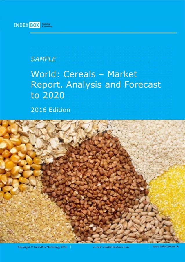 pest analysis of cereal market Business and industry analysis / pest analysis name of product-market analysis of other aspects of external our product will be a cereal box with a.