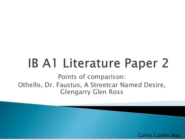 how to prepare for paper 2 ib english literature