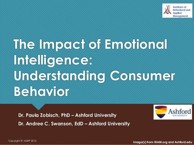 The Impact of Emotional Intelligence: Understanding Consumer Behavior