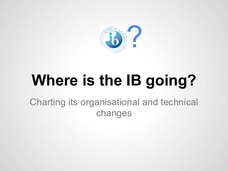 IB Changes October2011