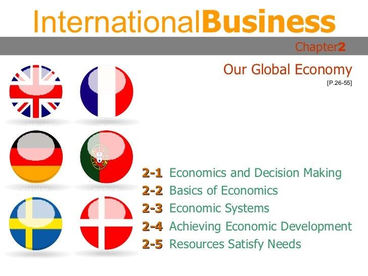 2-1 Economics and Decision Making 2-2 Basics of Economics 2-3 Economic Systems 2-4 Achieving Economic Development 2-5 Reso...