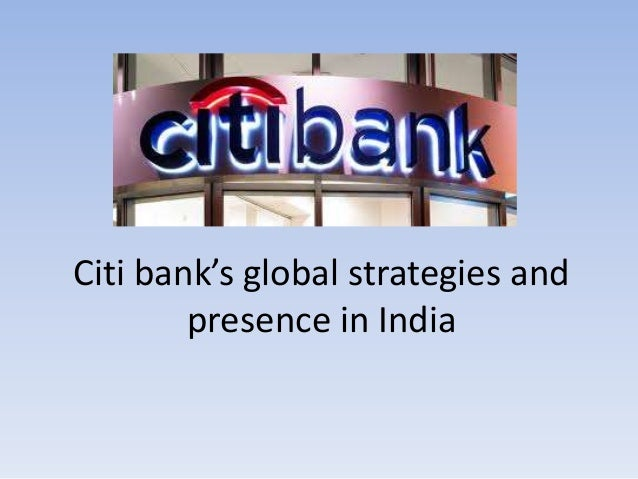 citi bank presentation Citibank is working on its own digital currency, citicoin that citibank line in a citigroup presentation that should remove any doubt that.