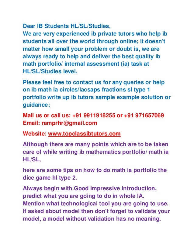 sl math portfolio golf heights Ib maths ia mathematics portfolio maths studies sl hl ib dp help tutors ib maths ia hl type 2 task mathematics portfolio posts from the 'ib mathematics portfolio gold medal heights sl type 2 ia task' category.