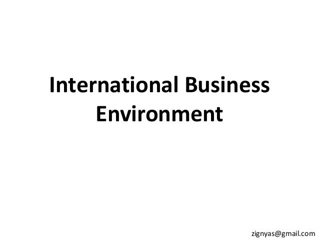 environmental effects on global business essay Read chapter 4 human consequences and responses: global  the local effects of global environmental  of business most environmental.