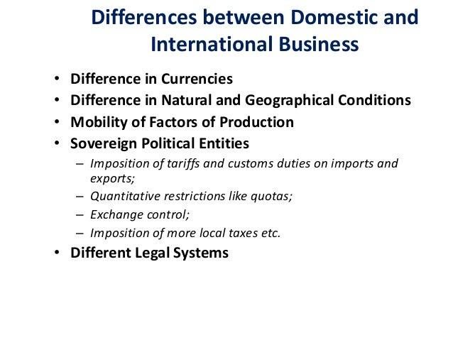essay international business environment