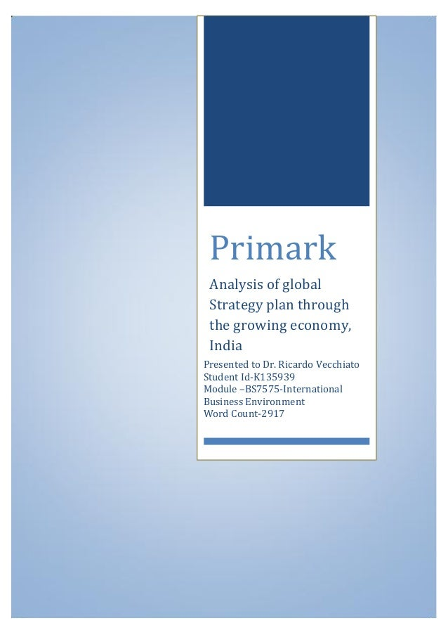 marketing strategies of primark Primark and zara business strategies primark has adopted a cost leadership from bcom dom 102 at university of nairobi.