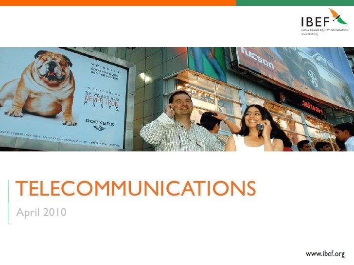 TELECOMMUNICATIONSApril 2010