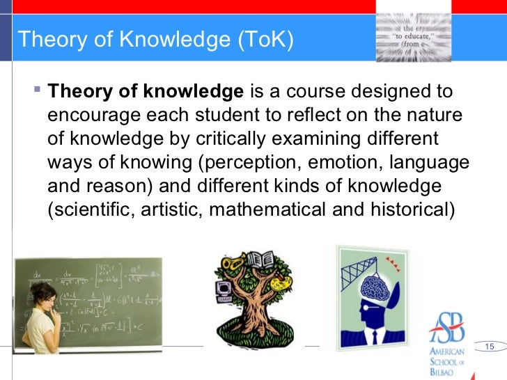 theory of knowledge does the internet contain reliable information essay The ib wrote a good guide to knowledge questions in 2009 linked here (they called kq's knowledge issues at that time) - this guide is well worth a read the current tok guide section on knowledge questions is also very good - linked here if you don't want to read, then you could watch.