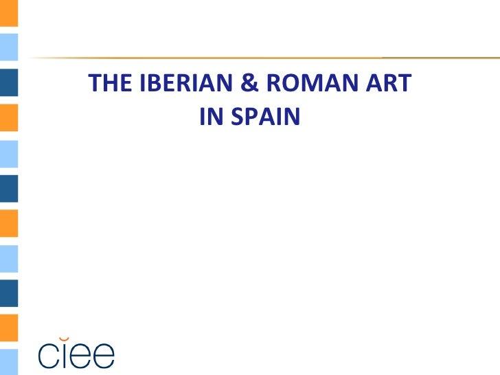 Iberian & Roman Art
