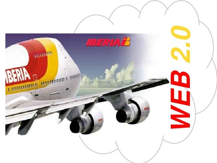Iberia's Web 2.0 Digital Communication