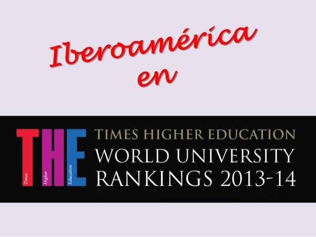 OCEANIA EUROPA ASIA AMERICA LATINA AMERICA DEL NORTE AFRICA Ranking de Times Higher Education 2013-14 por regiones EUROPA:...