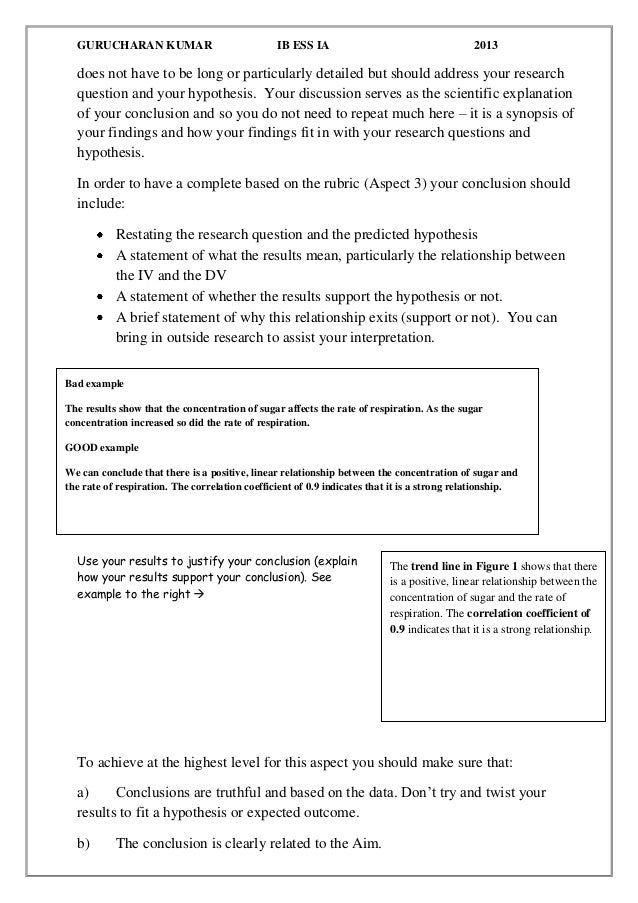 How To Write A Conclusion For A Report