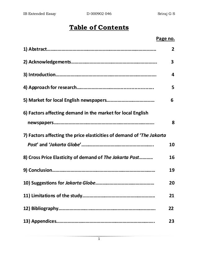 Ib English Extended Essay Books Coursework Sample  February   Ib English Extended Essay Books