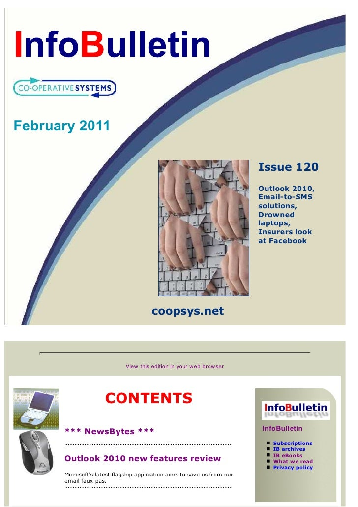 February 2011                                                                         Issue 120                           ...