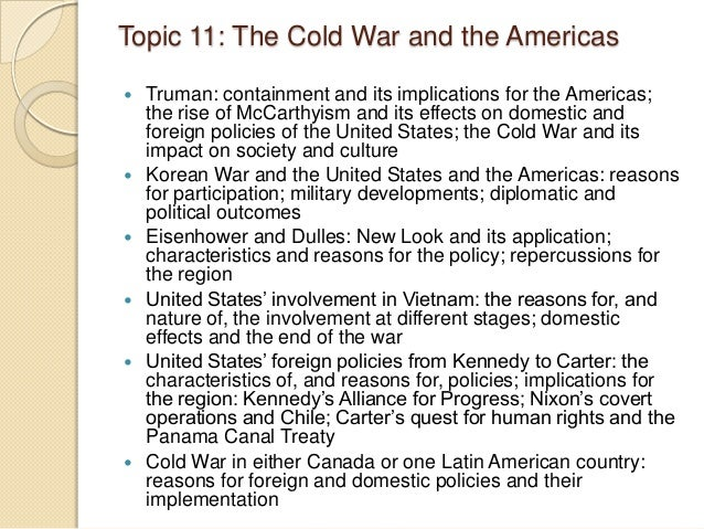 cold war essay questions ib