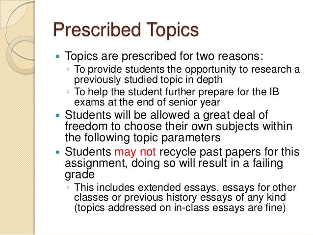 Active History Ib Extended Essay Subject - image 2