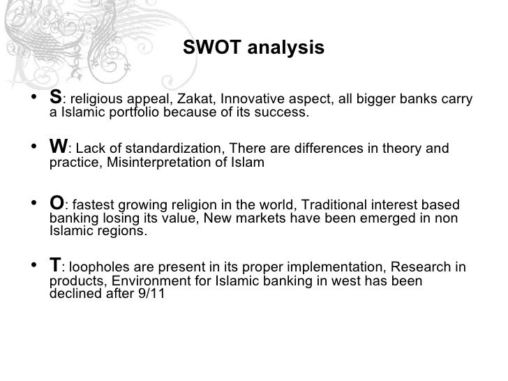 swot analysis for islamic banking 2016, the feasibility of adopting islamic banking system under the existing laws  in  2014, arbitration of islamic finance disputes in malaysia: a swot analysis.