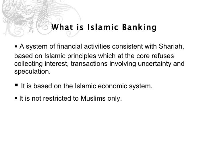 Essay On Islamic Banking