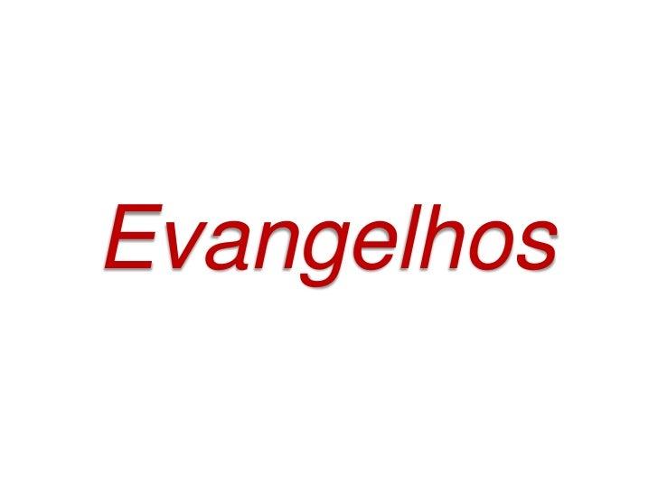 Estudo sobre os evangelhos