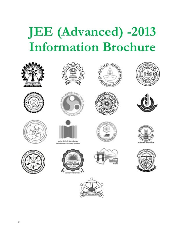 JEE 2013 Information Brochure
