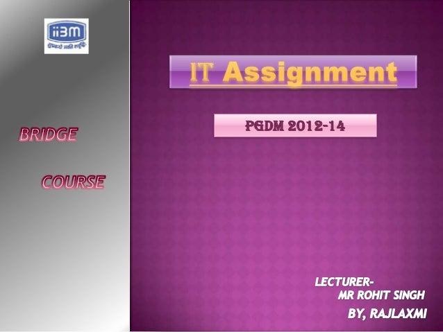 PGDM 2012-14