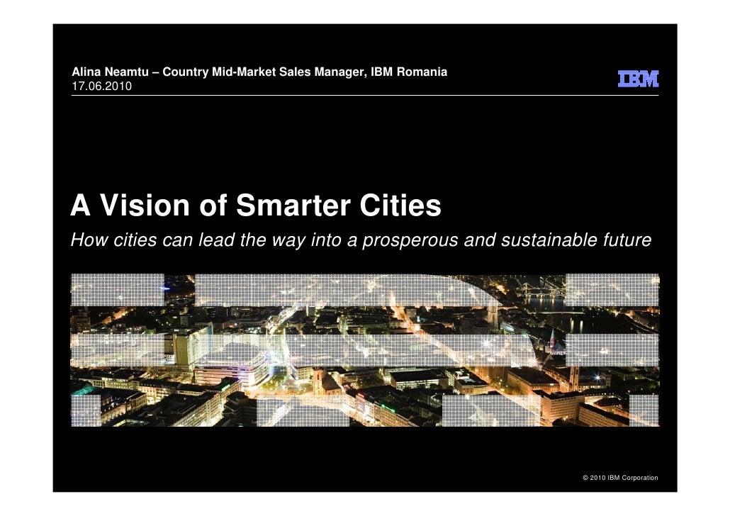 IBM Vision on a Smarter City-17iunie2010