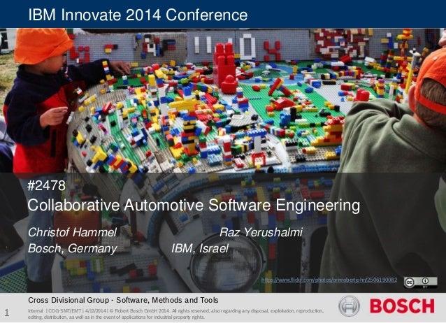 Ibm innovate-2014 #2478-hammel_pub