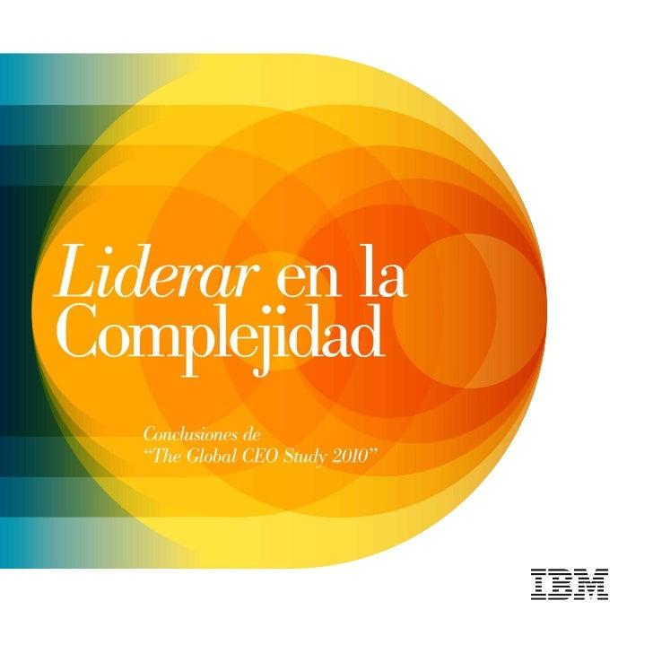 Ibm   liderar en la complejidad