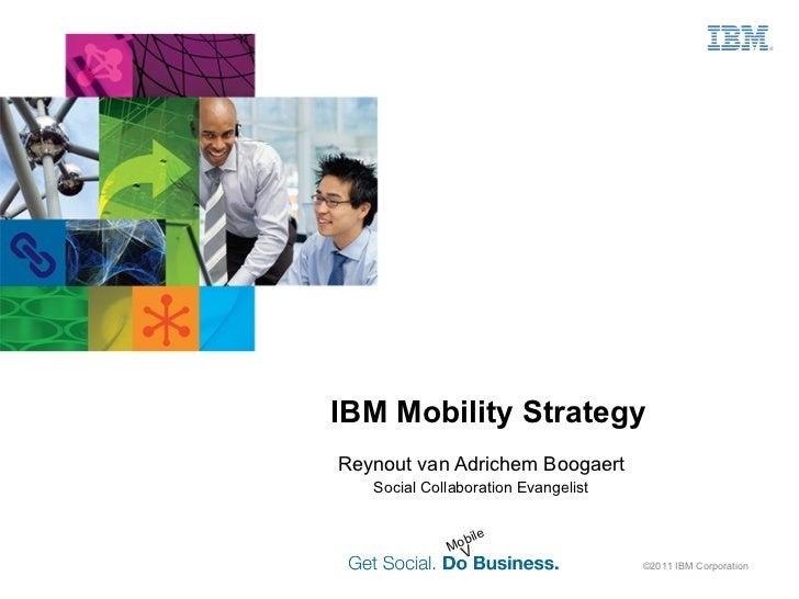 Overview of IBM Mobility Portfolio