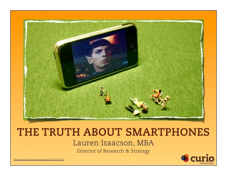 The Truth About Smartphones