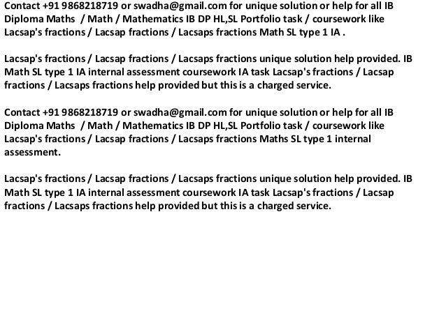 lacsap s fraction