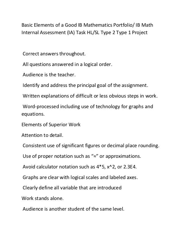 extended essay mathematics guide