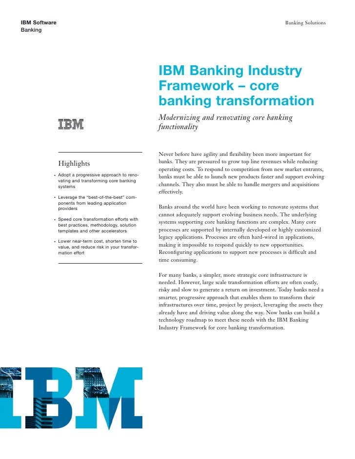 Core Banking Software: Providing a Platform to Speed Time to Value