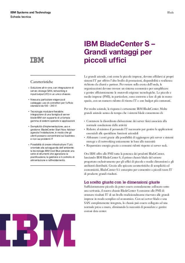 Ibm blade center s