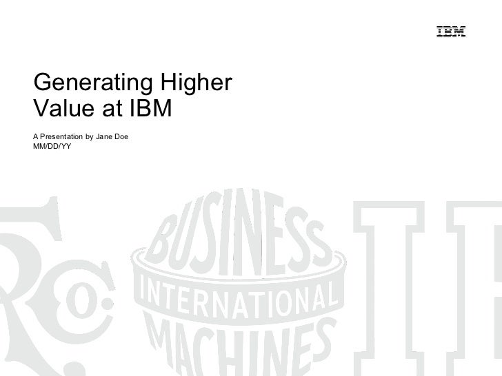 IBM centennial