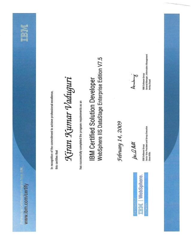 DSXchange :: View topic - DataStage 9.1 Certification