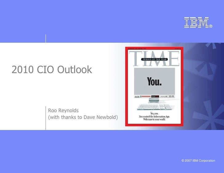 Ibm Cio 2010 Outlook