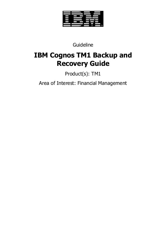 cognos tm1 10.2 2 reference guide