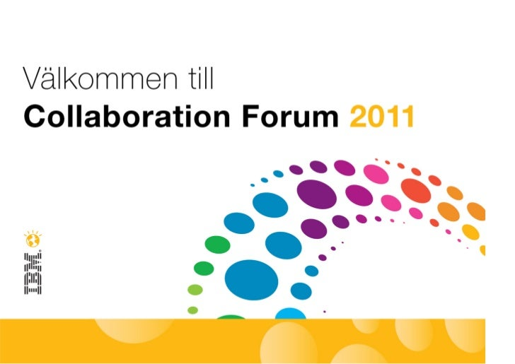 IBM Collaboration Forum - Therese Sinter Sogeti