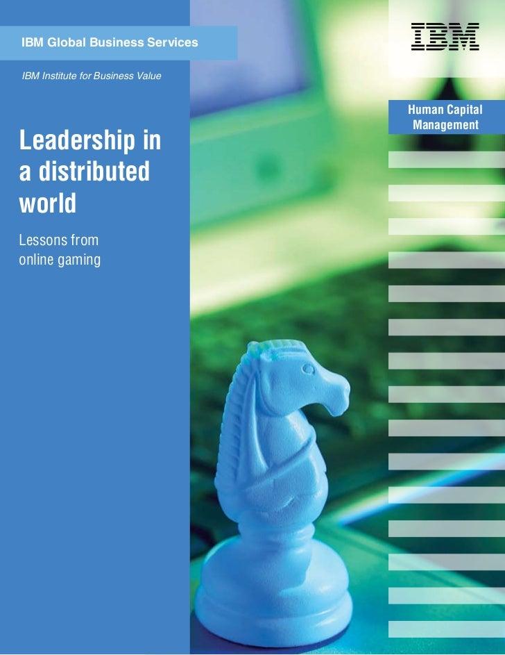 Ibm gio ibv_gaming_and_leadership